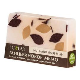 Naturalne mydło glicerynowe - ręcznie robione - Orzechowe