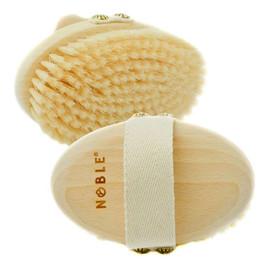 Miękka szczotka do masażu na sucho szczecina