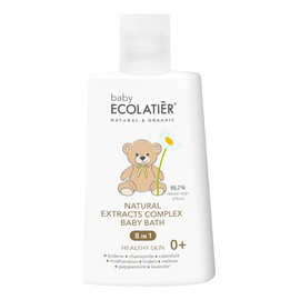 Naturalny kompleks ekstraktów 8w1 Zdrowa skóra do kąpieli dzieci w wieku 0+
