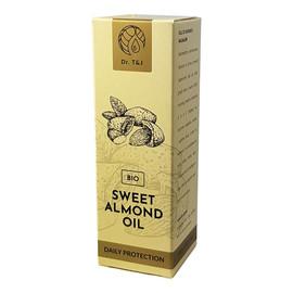 Naturalny olej ze słodkich migdałów BIO + CBD 500 Mg