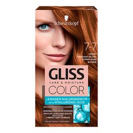 Krem koloryzujący do włosów 7-7 ciemny miedziany blond