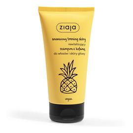 Ananasowy rewitalizujący szampon z kofeiną