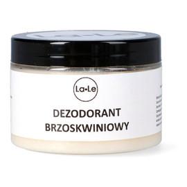 Dezodorant ekologiczny w kremie z olejkiem brzoskwiniowym