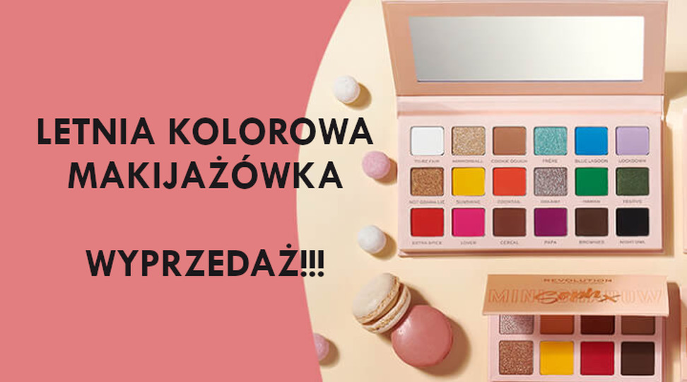 Letnia Kolorowa Makijażówka
