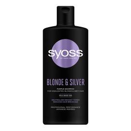 Blonde & Silver Purple Shampoo szampon neutralizujący żółte tony do włosów blond i siwych