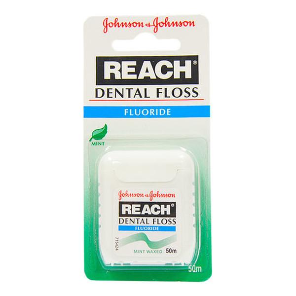 Listerine Reach woskowana nić dentystyczna do zębów 50m