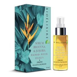 Serum regenerujące serum do włosów z biotyną i olejkiem Jojoba