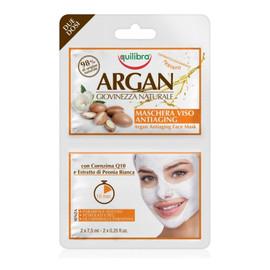 arganowa przeciwstarzeniowa maseczka do twarzy 2x7,5ml