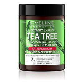 Tea Tree Krem-detox matujący antybakteryjny 3w1