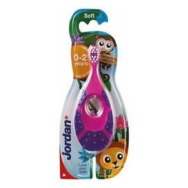 Szczoteczka do zębów dla dzieci 0-2 lat