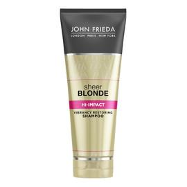 szampon odbudowujący zniszczone blond włosy