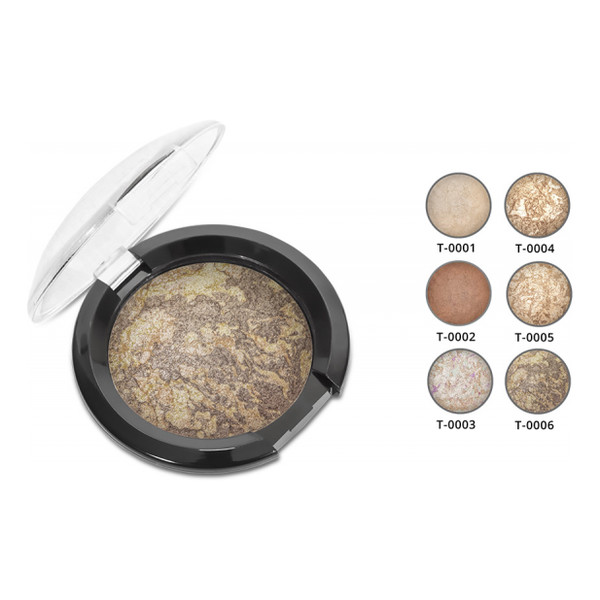Affect MINERAL BAKED POWDER Mineralny Puder Wypiekany