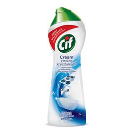 mleczko z mikrokryształkami do czyszczenia powierzchni