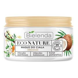 Masło do ciała odżywcze - Mleczko Waniliowe & Kokosowe & Kwiat Pomarańczy