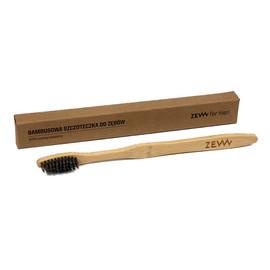 Bambusowa szczoteczka do zębów dla dorosłych 100% biodegradowalna