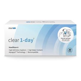 Clear 1-day jednodniowe soczewki kontaktowe-1.25 30szt