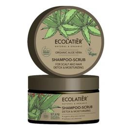 szampon-peeling do włosów nawilżający detoks