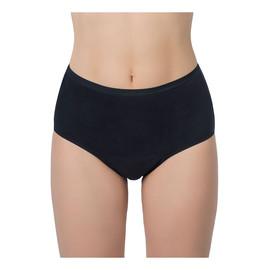 High waist bielizna wielokrotnego użytku przy lekkim nietrzymaniu moczu dla kobiet czarna l