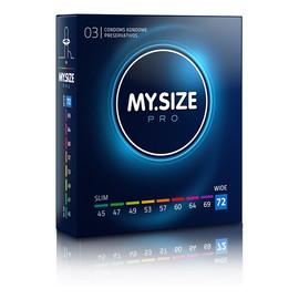 Condoms prezerwatywy 72mm 3szt