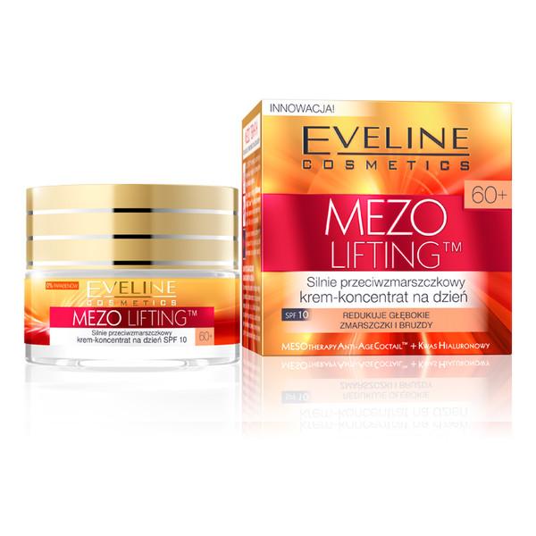 Eveline Mezo Lifting 60+ Silnie Przeciwzmarszczkowy Krem-Koncentrat Na Dzień 50ml