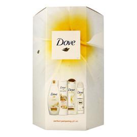 Zestaw prezentowy (dezodorant spray 150ml + żel pod prysznic 250ml + mleczko do ciała 250 ml + szampon do włosów 250ml)