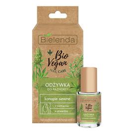 Bio vegan nail care odżywka do paznokci wzmacniająco-utwardzająca konopie siewne