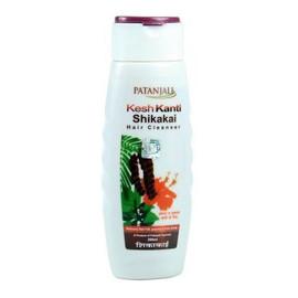 Ajurwedyjski szampon shikakai patanjali - włosy osłabione, wypadające i siwiejące