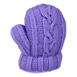 Mydełko glicerynowe Rękawiczka fioletowa