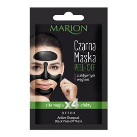 Czarna Maska Peel-Off z aktywnym węglem