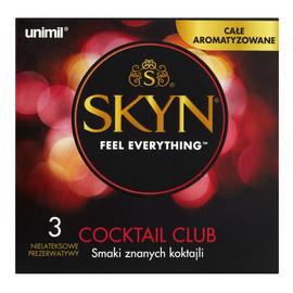Cocktail Club Nielateksowe prezerwatywy 3szt