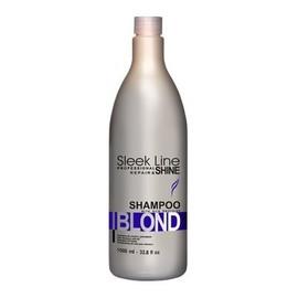 Szampon do włosów blond zapewniający platynowy odcień