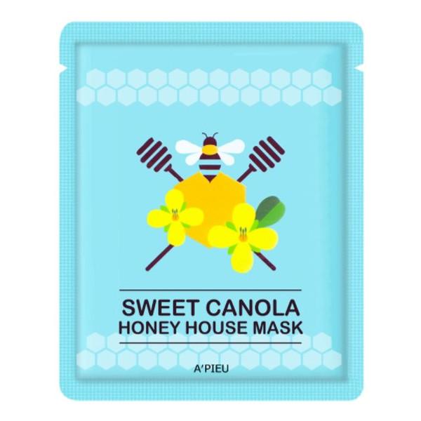A'pieu Sweet Canola ujędrniająco-nawilżająca maseczka w płachcie Canola Honey 23g