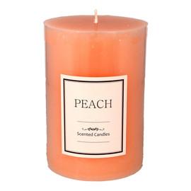 Świeca zapachowa Peach walec średni 1szt