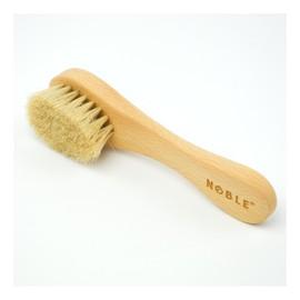 Szczotka do suchego masażu twarzy włosie naturalne