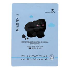 Maseczka na płacie oczyszczająca Charcoal
