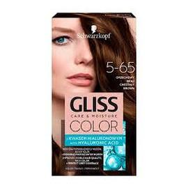 Krem koloryzujący do włosów 5-65 orzechowy brąz