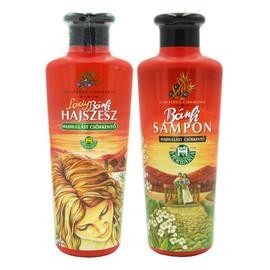 Zestaw wcierka Lady z chrzanem i gorczycą i szampon na porost i wypadanie włosów