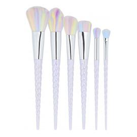 MIMO by Tools For Beauty, Zestaw 6 pędzli do makijażu, Unicorn, Pastel