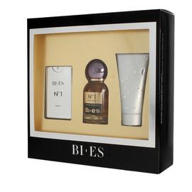 Komplet (edt. 50ml + parfum 15ml + żel pod prysznic 50ml)