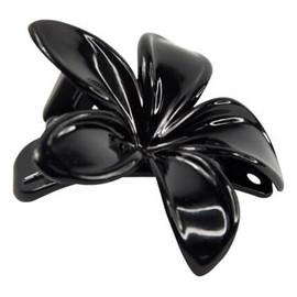 spinka do włosów Kwiatek czarna (FA-5831) 1 szt