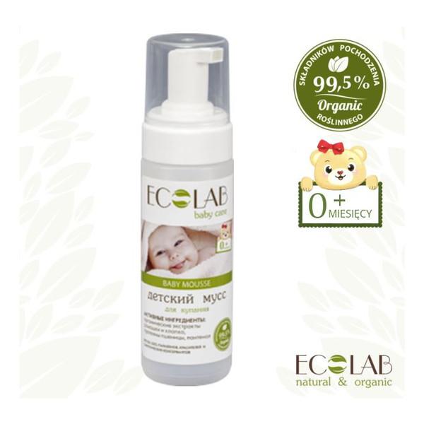Ecolab Ec Laboratorie Baby Care Mus Do Kąpieli Dla Dzieci Od 0+ 150ml