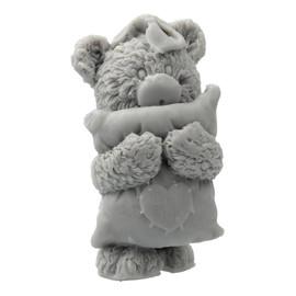 Mydełko glicerynowe Miś z Poduszką szary