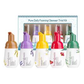 Pure Daily Foaming Cleanser Trial Kit hypoalergiczne pianki do mycia twarzy mini zestaw5x30ml