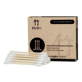 Bambusowe patyczki kosmetyczne z bawełną 100 szt
