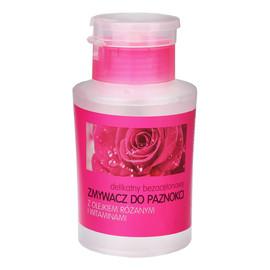 Zmywacz do paznokci bez acetonu Róża