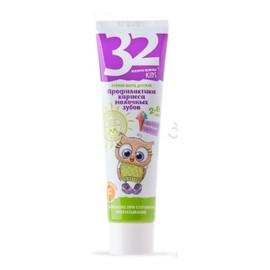 32 PEARLS Pasta do zębów dla dzieci Profilaktyka próchnicy zębów mlecznych