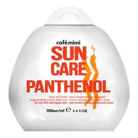 Przeciwsłoneczny krem do twarzy i ciała po opalaniu z pantenolem