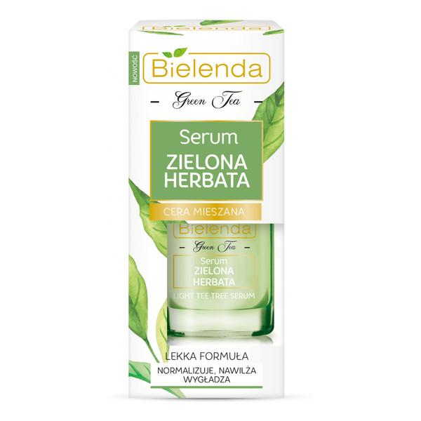 Bielenda Zielona Herbata Serum do twarzy cera mieszana tłusta trądzikowa 15ml