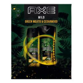 Zestaw prezentowy Wild dezodorant spray + żel pod prysznic