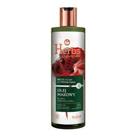 Multi Olejek do mycia ciała - Olej Makowy